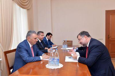 Ali Hasanov meets OSCE Project Co-ordinator in Baku
