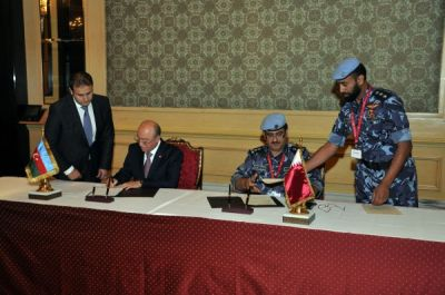 Azerbaijan and Qatar signed emergency situation management and security deals