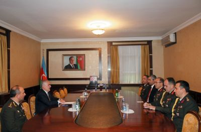 Chairman of Nakhchivan Supreme Majlis meets Turkish Armed Forces delegation