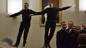 Priests in dance-off become web sensation