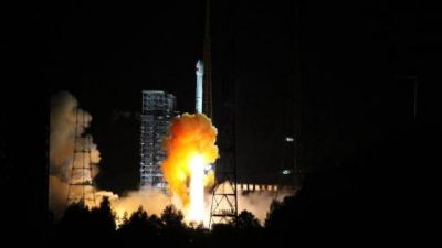 China launches first mission to moon and back