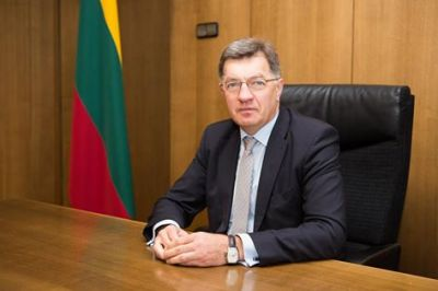 Prime Minister of Republic of Lithuania congratulates Caspian Energy journal on 15th anniversary