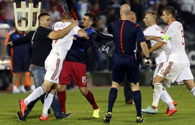 Albania penalized with technical defeat