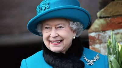 Queen sends first tweet