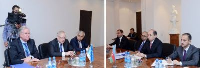 Azerbaijani Minister of Justice meets President of European Court of Human Rights