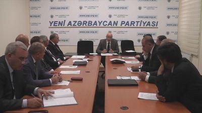 YAP-ın Regional inkişaf və yerli özünüidarəetmə komissiyasının iclası keçirilib
