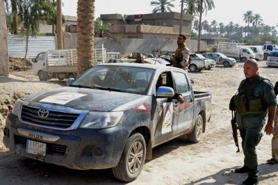Iraqi troops retake control of Sunni town