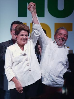 Brazilian President Rousseff is re-elected