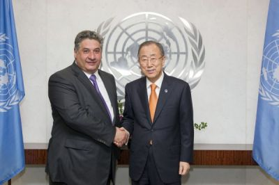 Azad Rahimov met with Ban Ki-moon