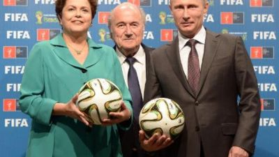 FIFA fully supports 2018 World Cup in Russia: Blatter