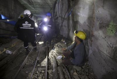 Rescuers press to save 18 trapped Turkish miners