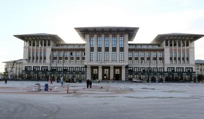 Erdogan to unveil a new presidential palace