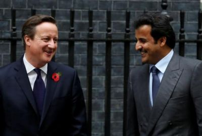 Cameron appeals to Qatar emir for more investment