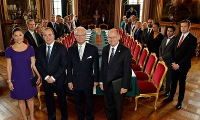 Sweden officially  recognises Palestinian state