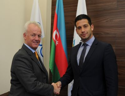 Baku 2015 European Games welcomes Serbia's Minister of Youth  and Sport to Azerbaijan