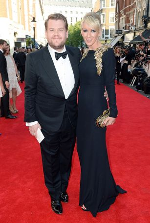 James Corden and wife Julia welcome their second child