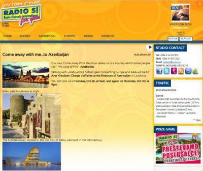 Slovenian Radio SI broadcasts programme about Azerbaijan