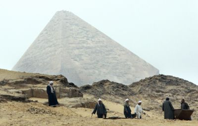Ancient temple unearthed in Egypt after illegal digging