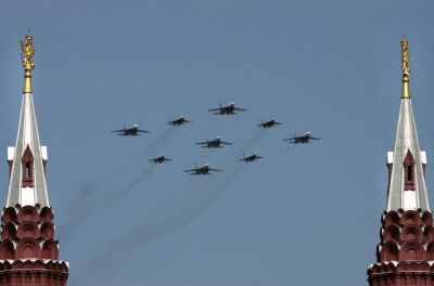 NATO reports large scale Russian air activity in European airspace