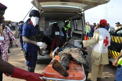 Bus station blast kills at least eight in Nigeria