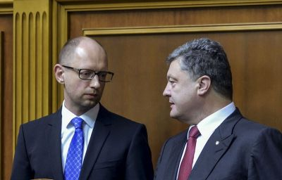 Poroshenko supports Yatsenyuk as Ukraine's new PM