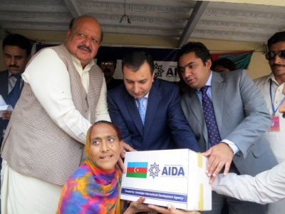 AIDA conducts humanitarian aid campaign in Pakistan