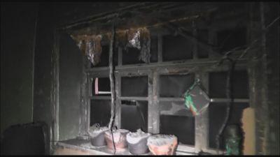 Qubada 75 yaşlı qadının evi kül oldu