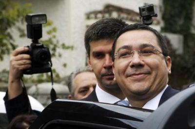 Romania's PM Ponta wins first round of presidential election