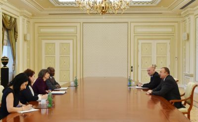 President Ilham Aliyev received a delegation led by the World Bank Vice President