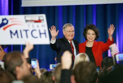 Republicans take Senate in midterm elections