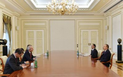 President Ilham Aliyev received the British Minister of State for Europe