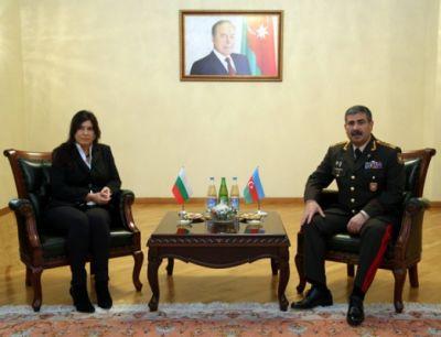Zakir hasanov met Bulgarian Ambassador