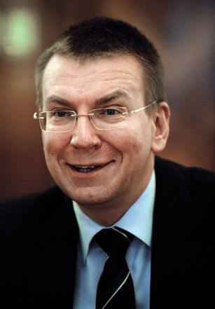 Latvian minister tweets to being gay