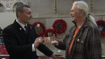 Lost war medals returned after Facebook post
