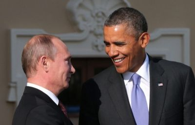 Putin and Obama have brief conversation after first meeting of APEC