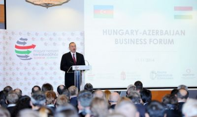 Hungarian-Azerbaijani business forum was held in Budapest