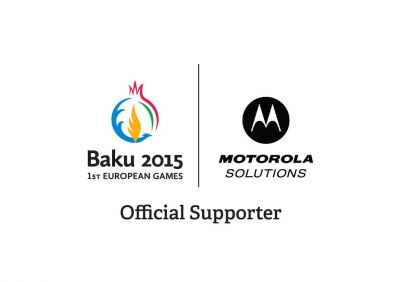 Baku 2015 European Games signs Motorola Solutions as Official Supporter
