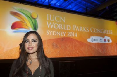 Leyla Aliyeva attends IUCN World Parks Congress