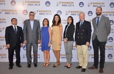 Azerbaijani NOC and Baku 2015 executives give update at ANOC  General Assembly