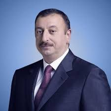 President Ilham Aliyev arrived in Shamkir District on a visit