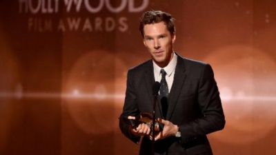 Cumberbatch, 'Gone Girl' win Hollywood honors
