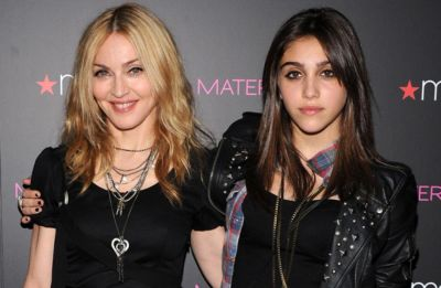 Madonna enjoys family time with Lourdes and Rocco