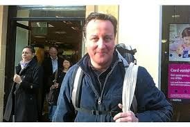 David Cameron goes on a diet after piling on the pounds over Christmas