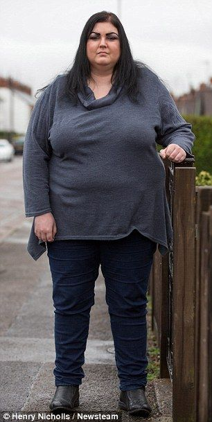 Woman gains eight stone in six months due to mystery illness  PHOTO