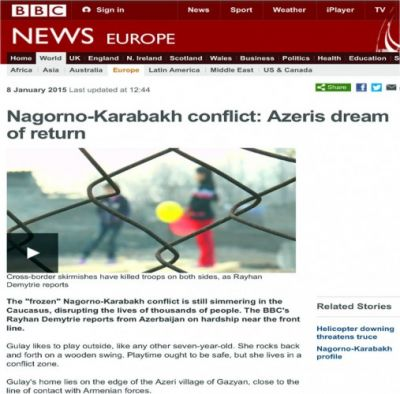 Nagorno-Karabakh conflict: Azeris dream of return
