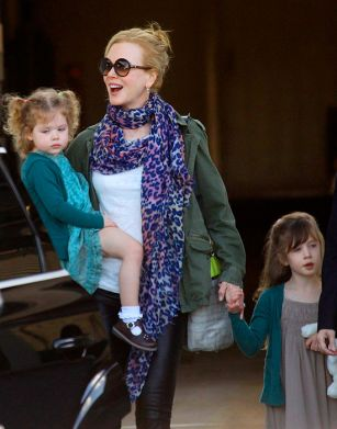 Nicole Kidman says her daughters won't be actresses