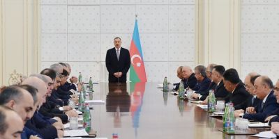 Azerbaijani President: As a result of the work to be carried out this year Azerbaijan will grow even stronger