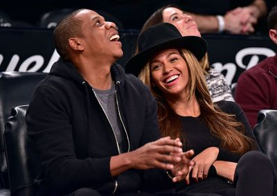 Beyoncé fuels pregnancy reports on a basketball date with husband Jay Z