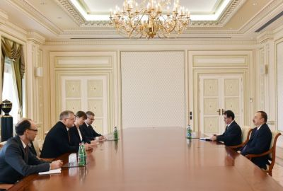 President Ilham Aliyev received  the European Union Special Representative for the South Caucasus