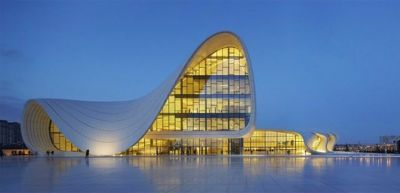 Photos of Heydar Aliyev Centre become winner of 2014 Arcaid images Architectural Photography awards
